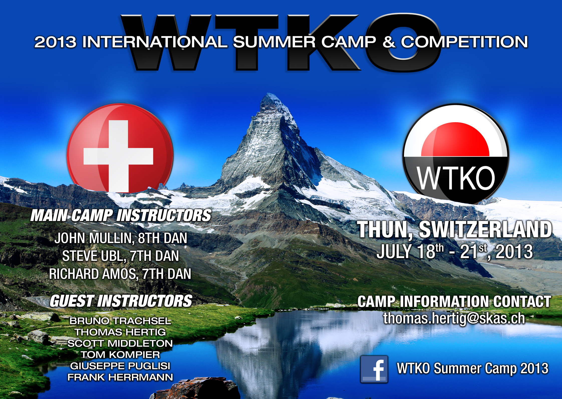 2013 WTKO International Camp & Competition