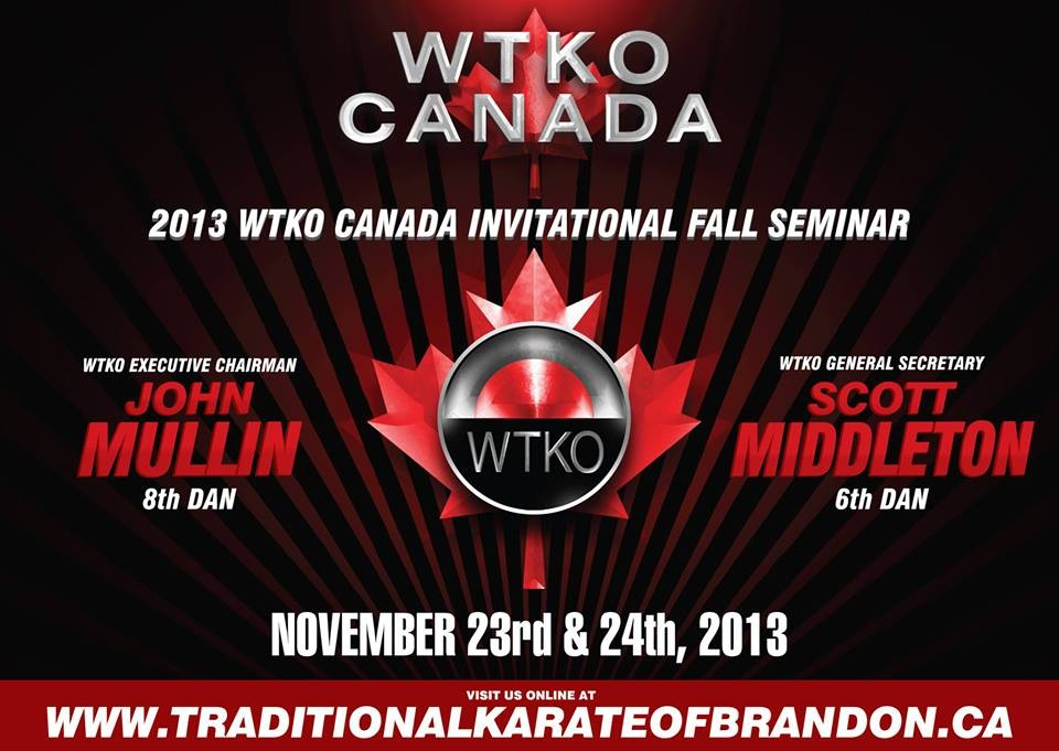 2013 WTKO Canada Invitational Fall Seminar