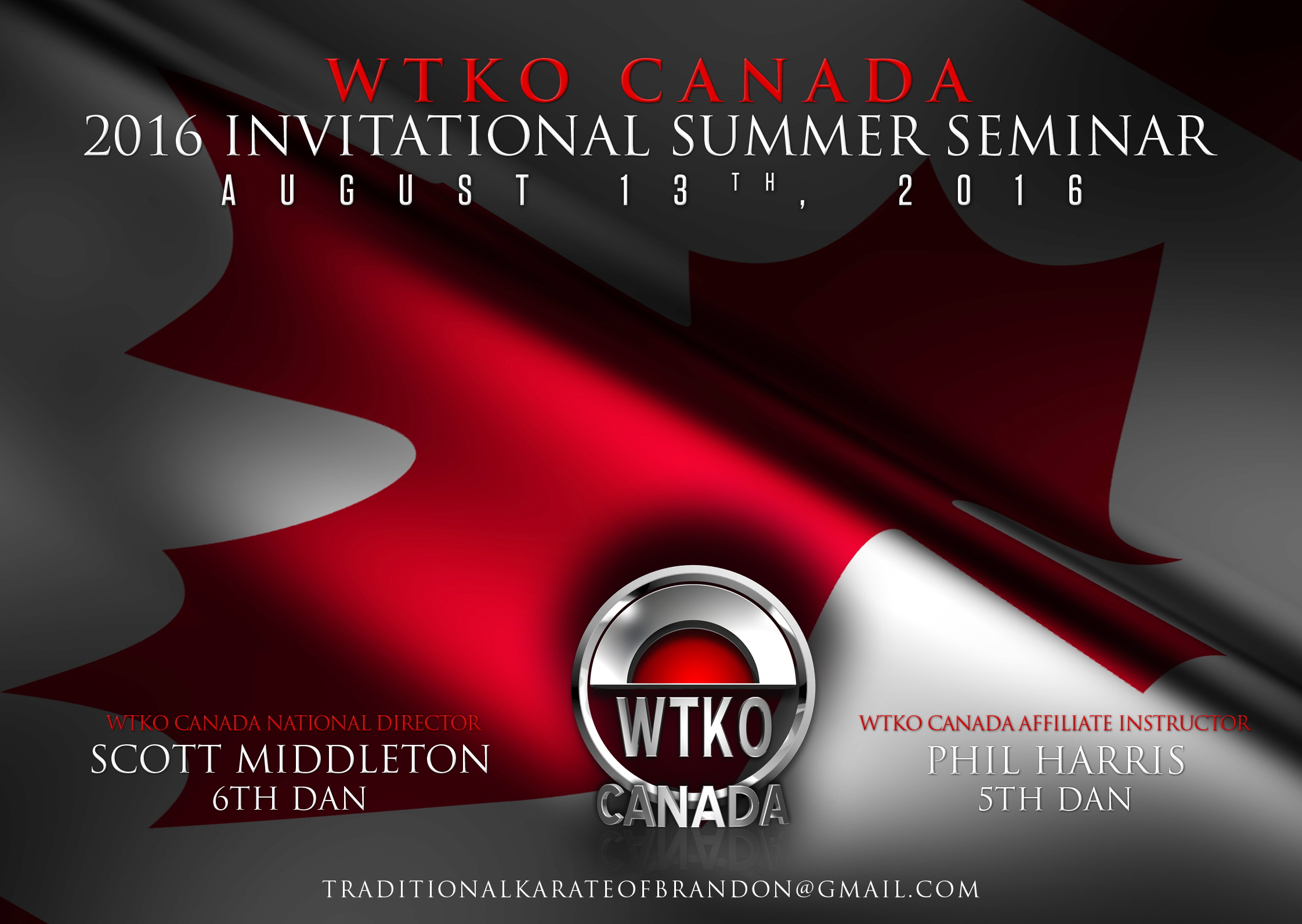 2016 WTKO Canada Invitational Summer Seminar