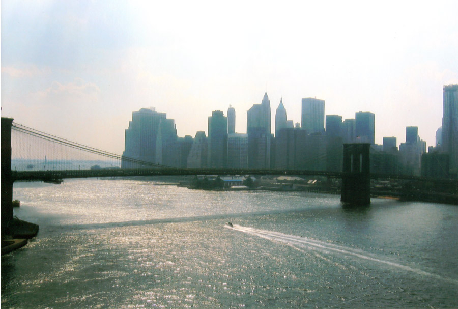 Picture of New York City. Photo taken by Scott Middleton during his 6th visit to New York City for training with Sensei Richard Amos. Circa 2010.