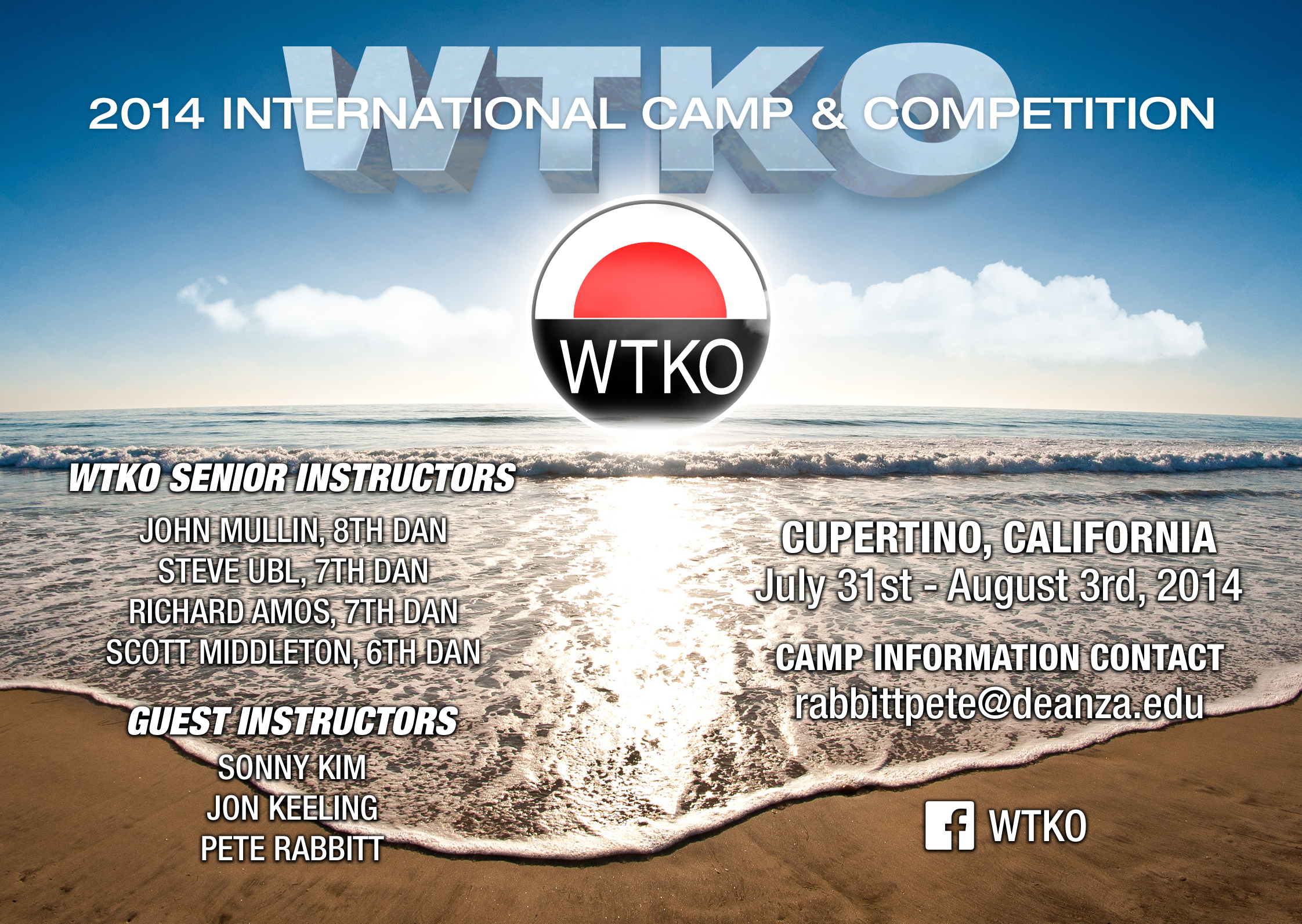 2014 WTKO International Camp & Competition