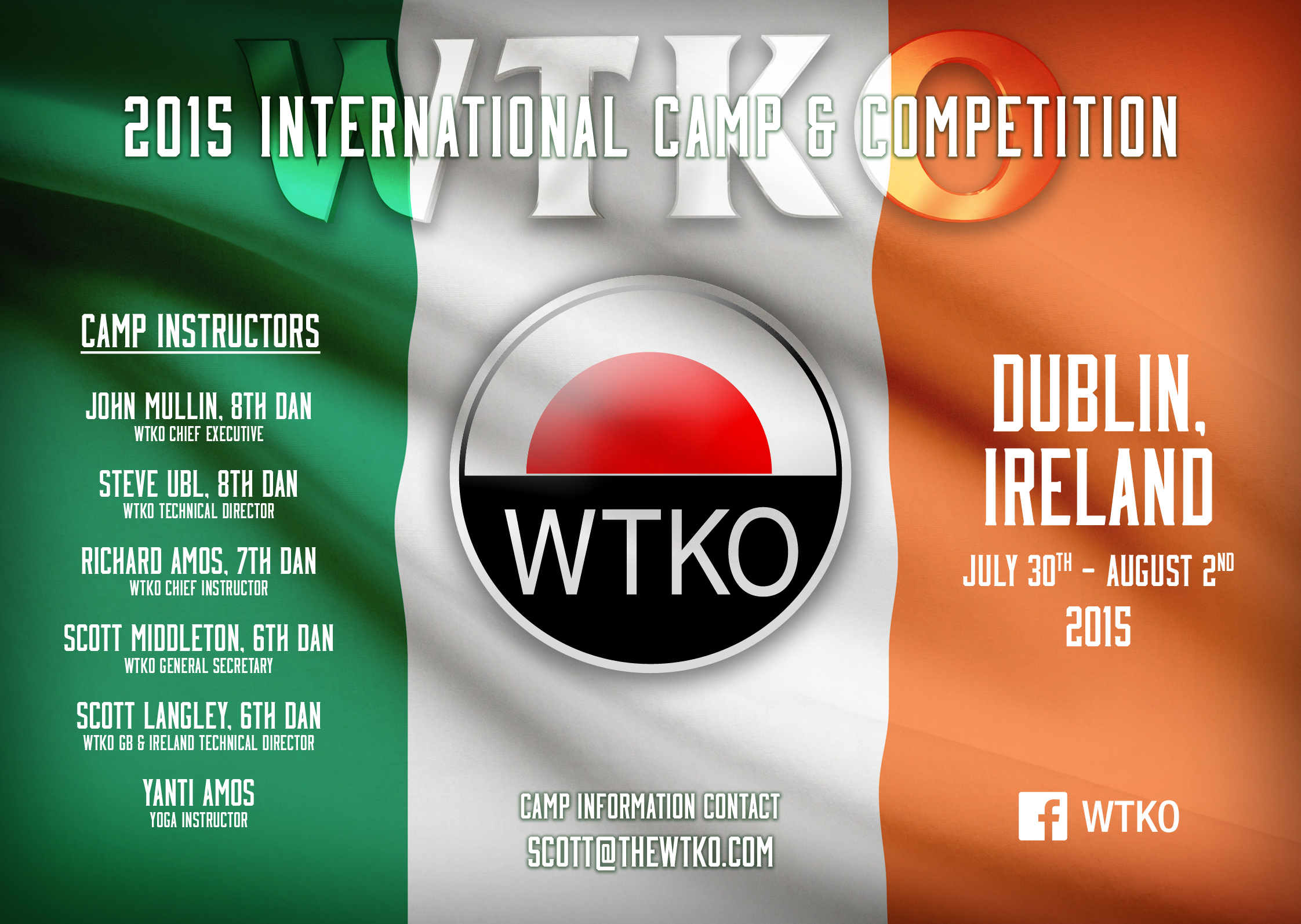 2015 WTKO International Camp & Competition