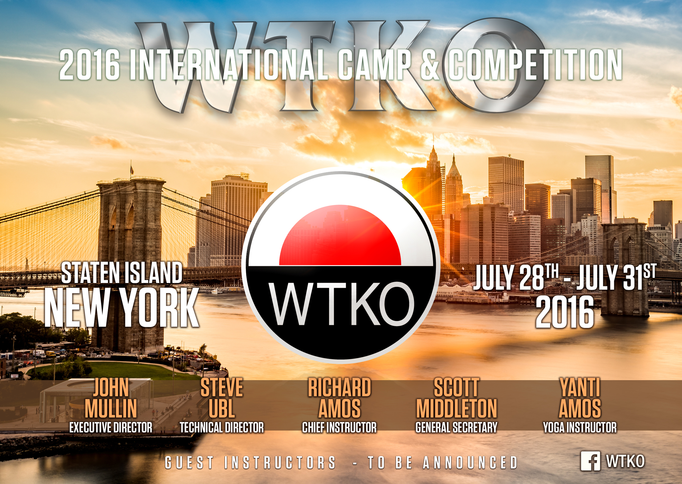 2016 WTKO International Camp & Competition