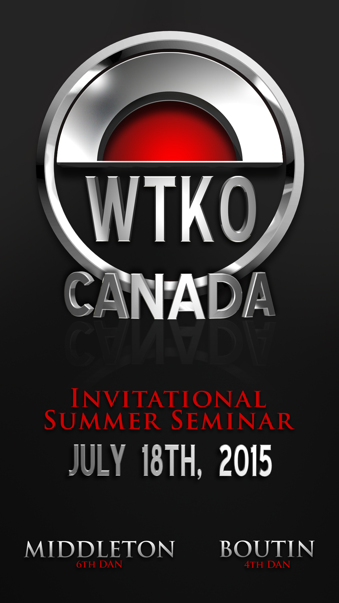2015 WTKO Canada Invitational Summer Seminar