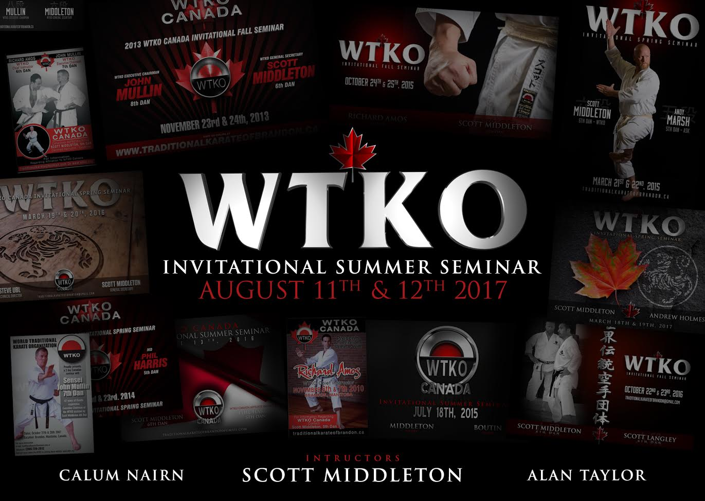 2017 WTKO Canada Invitational Summer Seminar