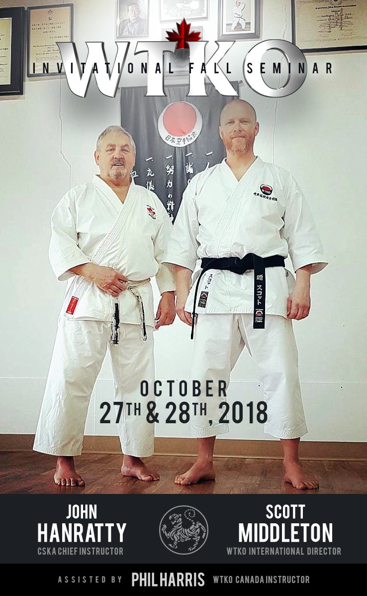 2018 WTKO Canada Invitational Fall Seminar
