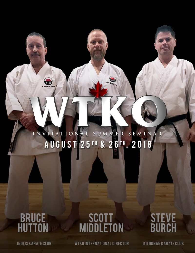 2018 WTKO Canada Invitational Summer Seminar