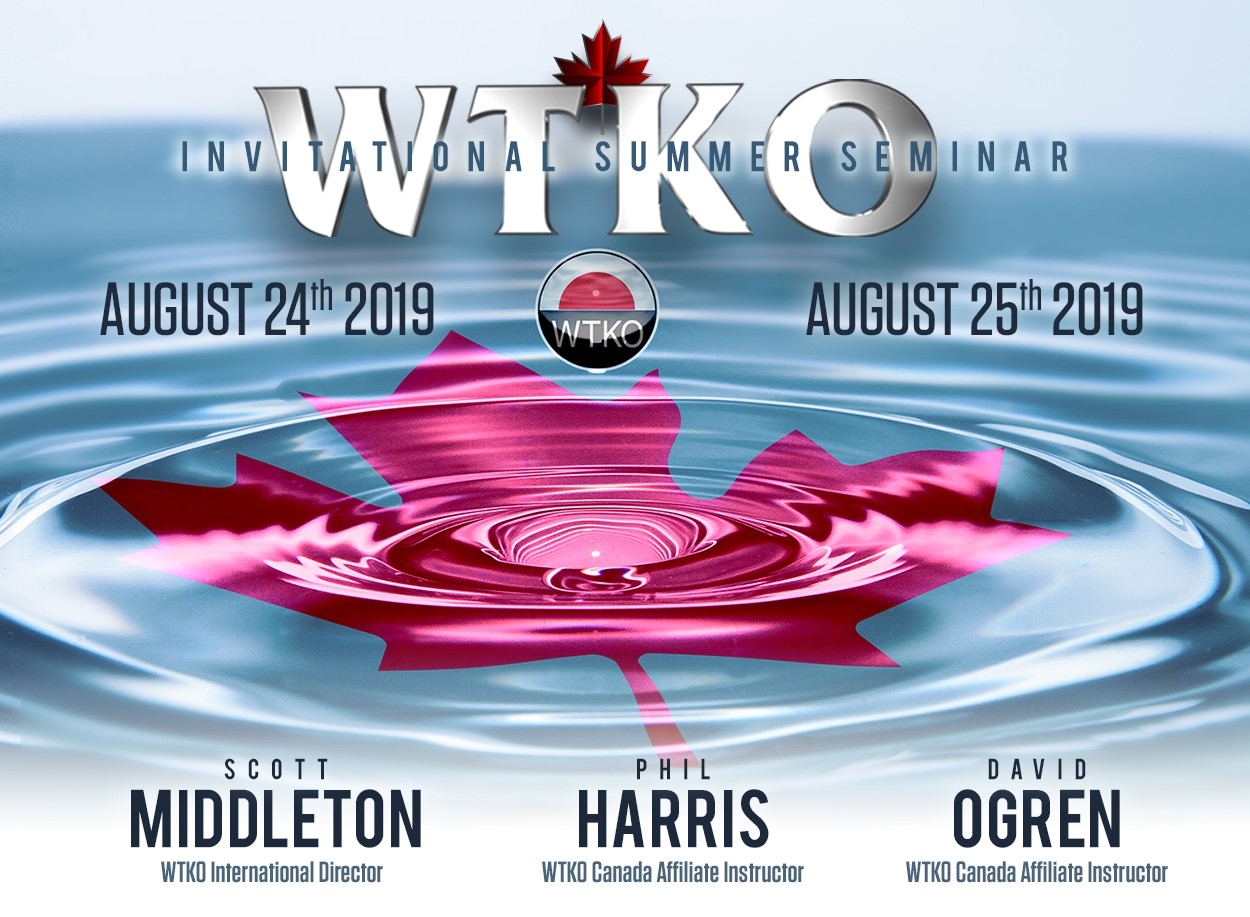 2019 WTKO Canada Invitational Summer Seminar